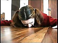 Lecherous schoolgirl was punished