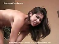 Michaela McGowen gets beaten