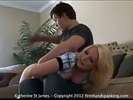 Hard, fast 320-smack otk spanking