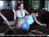Lesbian stupendous plant oung Alison Miller