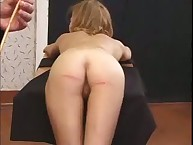Caning for marvelous girl