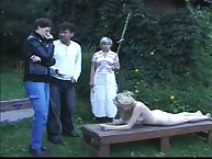 Girls were caned