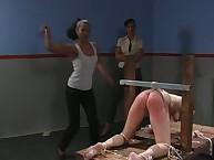 Ravishing peri gets her bum lashed