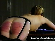 Hardcore ass caning from doctor
