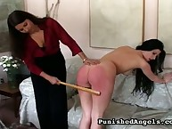 Ariel getting her bare ass spanked