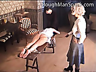Rough person Spank. Three girls
