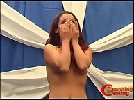 Teen maiden got ambitious caning