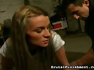 Bad legal age teenager Nicole was catched and spanked
