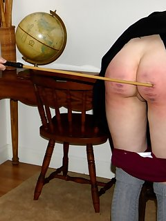 12 of Elle Gets Caned to Tears