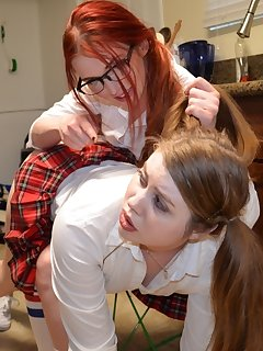 16 of Christy Cutie gets spanked